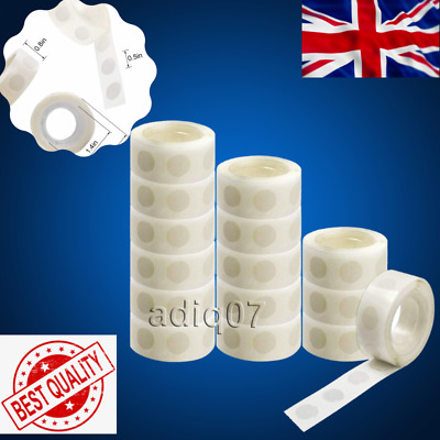 £2.99 • Buy Double Sided Glue Dots Tape Adhesive Sticky DIY Balloon Clear Decoration Sticker