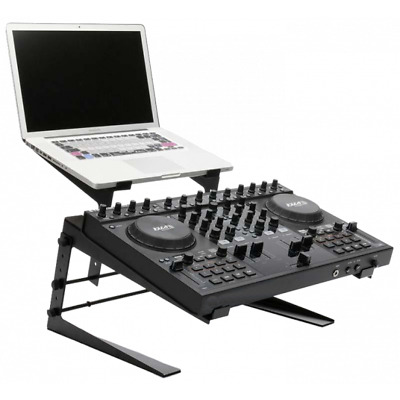 £38 • Buy Ibiza Sound Dual Laptop Stand Controller DJ Equipment Stand Monitor Stand