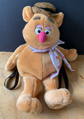 £15 • Buy The Muppets Fozzie Bear Plush Backpack Bag Soft Toy  - 24  - Jim Henson
