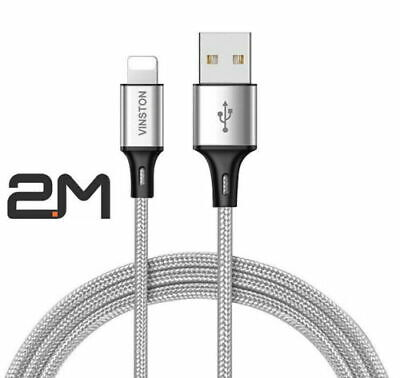 £3.99 • Buy 2M Long Ultra Fast USB IPhone Cable Charger For Apple IPhone 12 11 X 6 5 7 8 UK