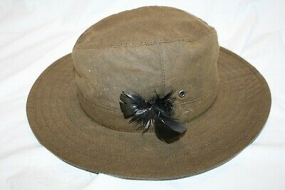 £22 • Buy Genuine Olney Hat Mens Size S In 100% Cotton Inner Band Circumference 53.30cm