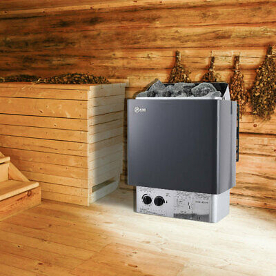 £189.95 • Buy 9KW Powerful Electric Sauna Heater Stove With Stoves Dry Steam Home SPA Room UK