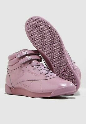 £34.99 • Buy Reebok Classic Freestyle Hi Size 3 Lilac RRP £70 Brand New CN3992 LAST PAIRS