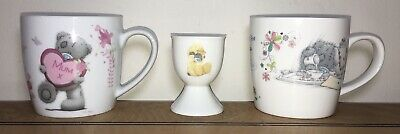 £6.50 • Buy Me To You, Tatty Teddy Mugs, Best Mum & Time For Tea Gift Mugs/Cups With Egg Cup