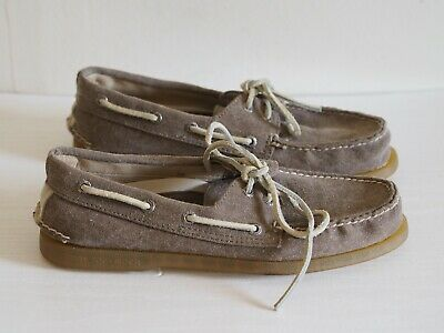£31.14 • Buy Sperry Top Sider Shoes UK 6.5 Brown Canvas Authentic Original Men's