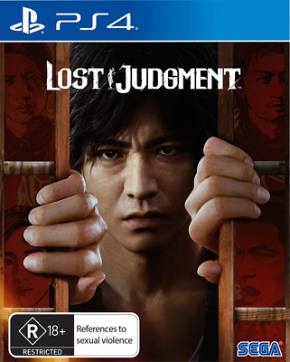 AU96.95 • Buy Lost Judgment PS4 Game NEW
