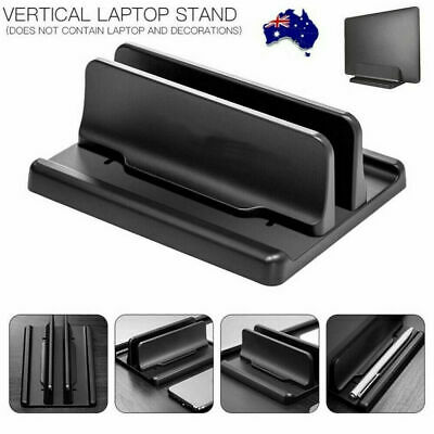 AU17.99 • Buy Vertical Laptop Stand Desktop Space Saving Stand Holder For Notebook MacBook Pro
