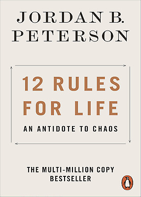 AU18.99 • Buy 12 Rules For Life: An Antidote To Chaos Jordan B. Peterson