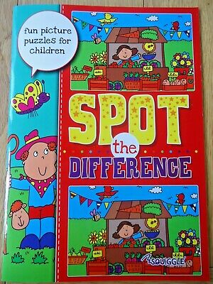 £2.99 • Buy Spot The Difference Book - Children's Puzzles - A4 Large Size - Full Colour -new