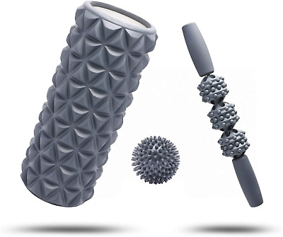 AU50.03 • Buy FitBeast Foam Roller Set 2 In 1 For Deep Tissue Muscle Massage, Trigger Point