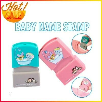 £3.39 • Buy Baby Unname Stamp Children Name Seal Student Kid Clothes Chapter DIY Character