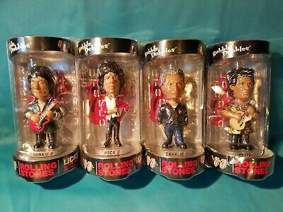 £352.15 • Buy Rolling Stones Set Of 4 Bobbleheads Never Opened Mick Keith Charlie Watts & Ron