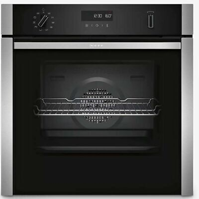 £599 • Buy NEFF B6ACH7HN0B N50 Slide&Hide® Built In 59cm A Electric Single Oven Stainless