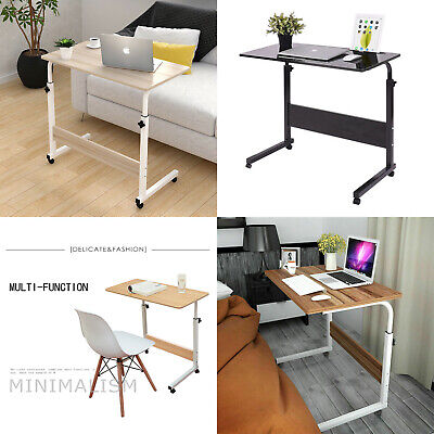 £15.99 • Buy Adjustable Portable Laptop Table Notebook Desk Trolley Sofa Bed Tray Computer UK