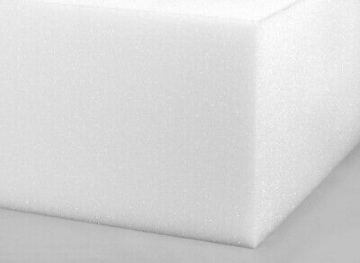 £5.13 • Buy White Upholstery Foam Cut To Any Size High Density Seating Cushion Pads Sofa Car