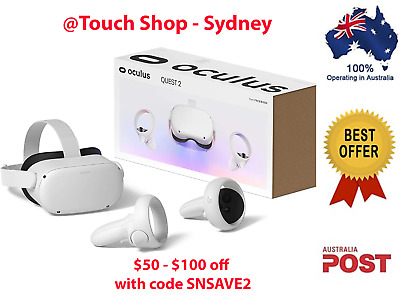 AU960 • Buy *AU STOCK* Oculus Quest 2 Advanced All_In-One Virtual Reality Headset 128/ 256GB