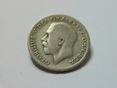 £1.25 • Buy 7099 - 1921 George V .500 Silver Sixpence