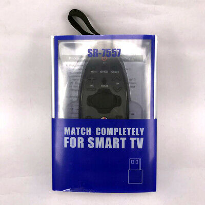 £12.41 • Buy New SR-7557 For Samsung Smart TV Audio Sound Touch RF Remote Control BN94-07557A