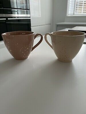 £5 • Buy Next Pink And Gold Cups X2 New And Unused