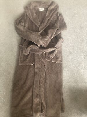 £15 • Buy Next Ladies Velour Dressing Gown Small Worn Once