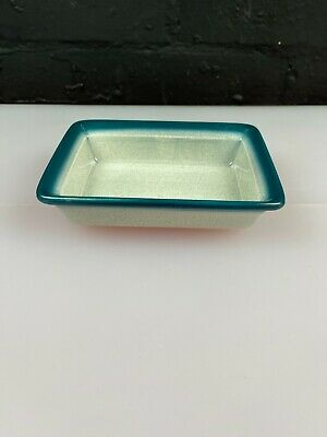 £12.99 • Buy Wedgwood Blue Pacific Oblong Serving / Butter Dish 16 Cm X 4 Cm