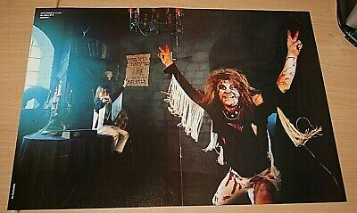 £2.99 • Buy OZZY OSBOURNE Early Band Large A3 Original Magazine Glossy Rare ART Poster