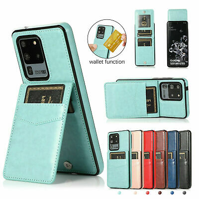 AU15.18 • Buy For Samsung Note20 S20 S21 S30+Ultra S10S9S8 Leather Card Slot Wallet Case Cover