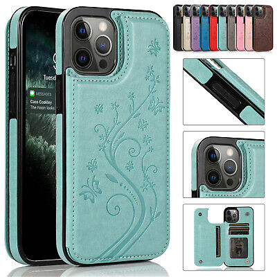 AU15.68 • Buy For IPhone 12 11 Pro XS Max XR 87 Women Leather Wallet Flip Case Card Slot Cover