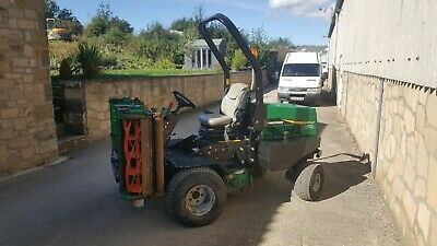 £8640 • Buy Ransomes Highway 2130 Ride On Triple Cylinder Mower Low Hours 7200 +vat