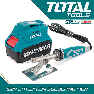 £49.99 • Buy Cordless Soldering Iron 20v - Lightweight Quick Heating - Battery & Charger Inc