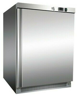 £595 • Buy Commercial Catering Single Undercounter Storage Fridge Stainless Steel 140 Litre