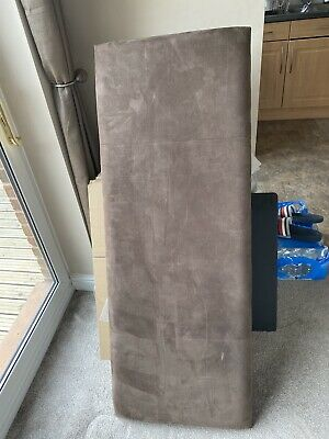 """£12 • Buy Faux Suede Headboard For 4'6""""Double Bed"""