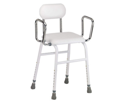£69.99 • Buy Adjustable Height With Removeable  Armrests  Multi Use Perching Stool Back