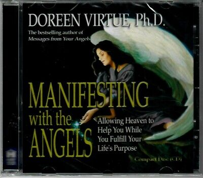 £12.99 • Buy MANIFESTING WITH THE ANGELS By Doreen Virtue PhD - Meditation CD
