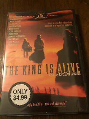 £7.27 • Buy The King Is Alive - Jennifer Jason Leigh - Mgm Dvd New And Sealed Oop Rare