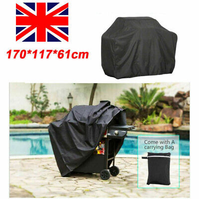 £7.29 • Buy 170CM BBQ Covers Heavy Duty Waterproof Barbecue Smoker Grill Protectors