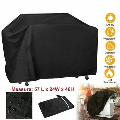 £6.99 • Buy Heavy Duty BBQ Cover Waterproof Barbecue Grill Protector Outdoor Covers L/145cm
