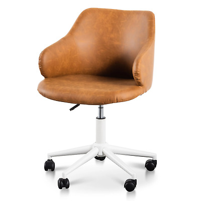 AU180 • Buy Hester Office Chair - Tan With White Base