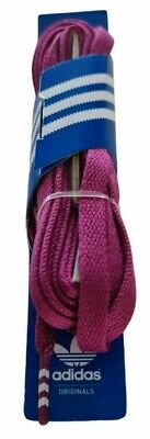 £6.99 • Buy Adidas Originals Solid Flat Laces Glory Pink 140cm / 10mm