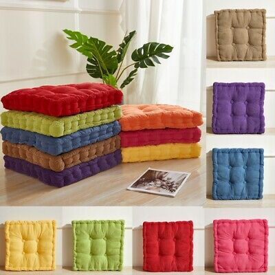 £12.96 • Buy Chair Seat Pads Cushions Floor Pillow Living Room Sofa Balcony Office Seat Pads