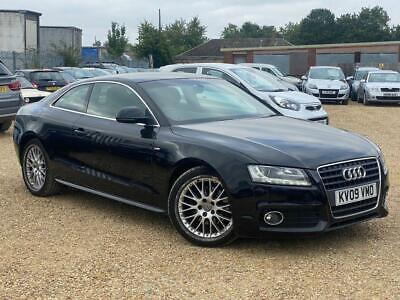 £3988 • Buy 2009 Audi A5 2.0TD (168bhp) COUPE S Line DIESEL - PX SWAP DELIVERY