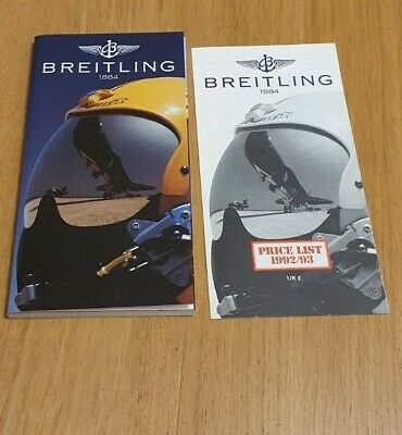 £15 • Buy Vintage Breitling Thin Sized Watch Book Price List