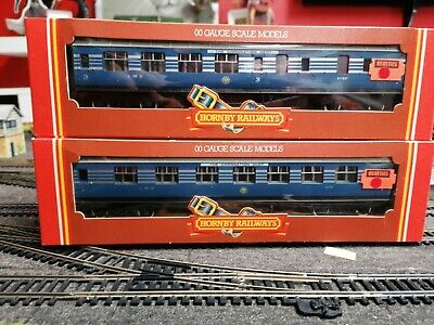 £50 • Buy Hornby Coronation Scot Coaches R422&423 Old New Stock