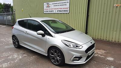 £8450 • Buy 2020 70 Ford Fiesta St-line Edition Turbo Damaged Repairable Salvage