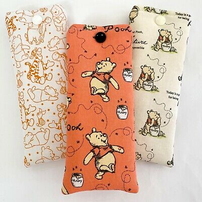 £4.20 • Buy Glasses Case Pouch | Handmade | Winnie The Pooh Design | Padded Soft Case  Lined