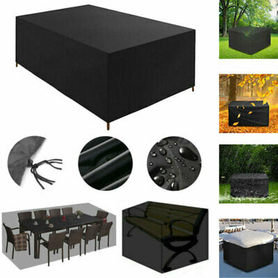 £7.99 • Buy Duty Waterproof Garden Patio Furniture Cover For Rattan Table Cube Sofa Outdoor