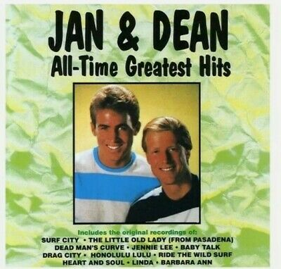 £8.99 • Buy Jan & Dean - All-Time Greatest Hits [New CD] Surf Rock