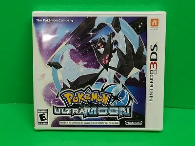 $44 • Buy Nintendo 3DS Pokemon Ultra Moon - Authentic - New! Factory Sealed! USA
