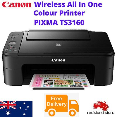 AU77.97 • Buy Canon WIRELESS Printer Student Home Office Print Scan Copy Printing W/ INK