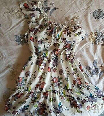 AU10.50 • Buy One Shoulder Floral Dress - Size 14 - New With Tags